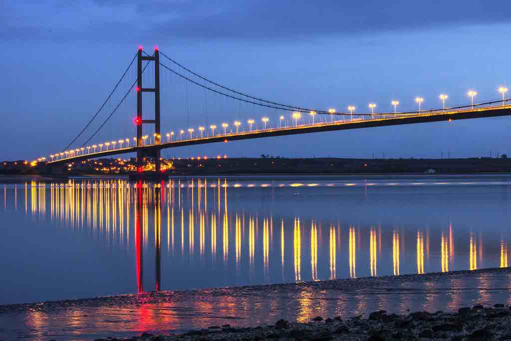 Photograph of the Humber Bridge for the Brough and Bilton area